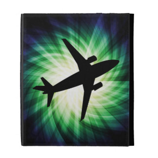 Airplane Silhouette; Cool iPad Cases