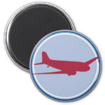 airplane silhouette magnets