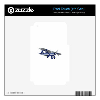 Airplane Skins For iPod Touch 4G