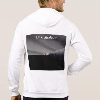 Airplane SR-71 Blackbird Jet Translating Spike Hoodies