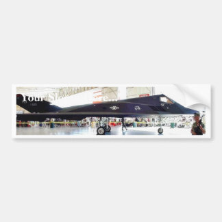 Airplane Stealth Fighter Car Bumper Sticker