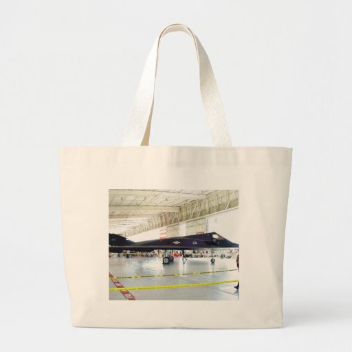 Airplane Stealth Fighter Jumbo Tote Bag