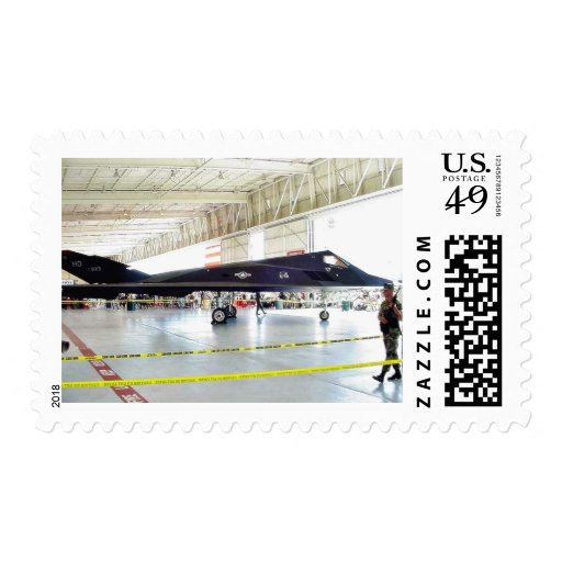 Airplane Stealth Fighter Postage