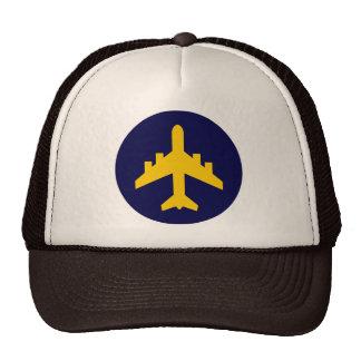 Airplane Symbol in Circle Trucker Hat