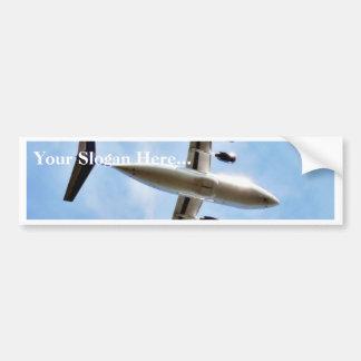 Airplane Take Off Car Bumper Sticker