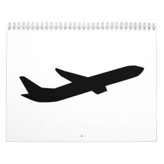 Airplane take off depature calendar