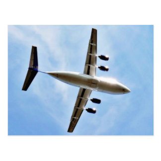 Airplane Take Off Postcard