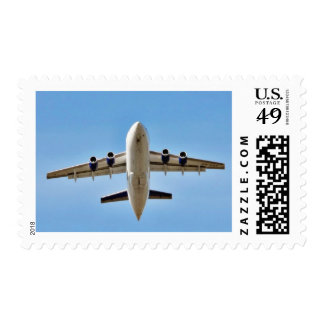 Airplane Takeoff High Postage