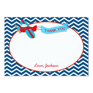 Airplane Thank You Cards
