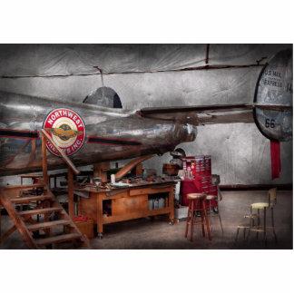 Airplane - The repair hanger Photo Cut Out