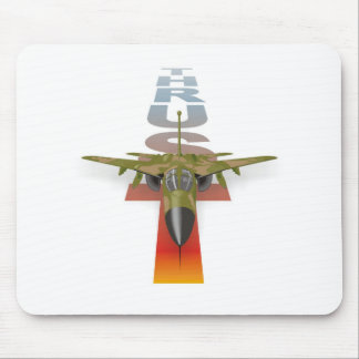 Airplane Thrust: Supersonic fighter jet, Air Force Mouse Pads