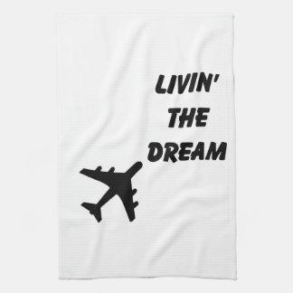 Airplane towel