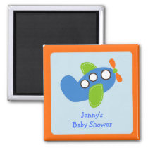 Airplane Transportation Party Favor Magnets