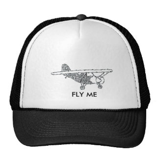 AIRPLANE TRUCKER HAT