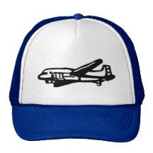 Airplane Trucker Hats