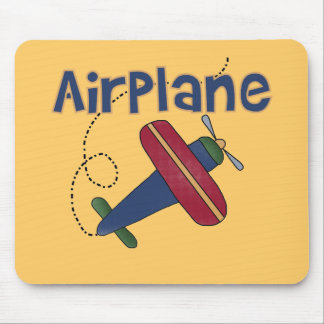 Airplane Tshirts and Gifts Mouse Pad