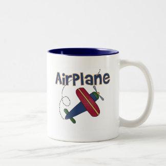Airplane Tshirts and Gifts Two-Tone Coffee Mug