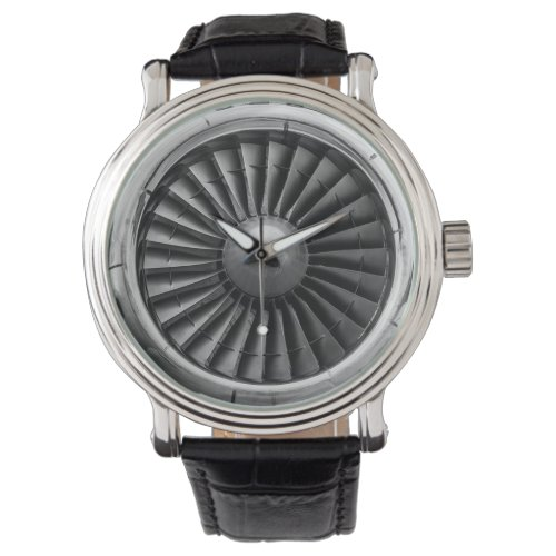 Airplane Turbine Engine Watch