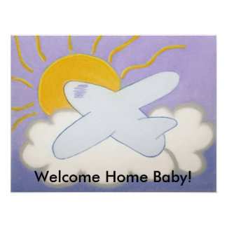 airplane, Welcome Home Baby! Poster