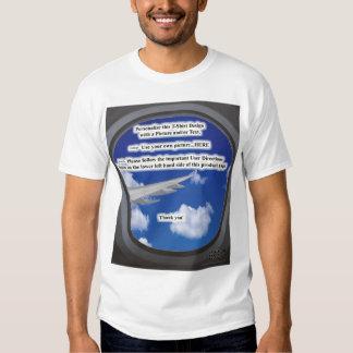 Airplane Window Tee ~ Personal Design Template
