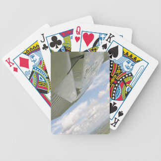 Airplane wing aviation plane playingcards bicycle playing cards