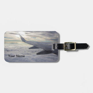 Airplane Wing Luggage Tag