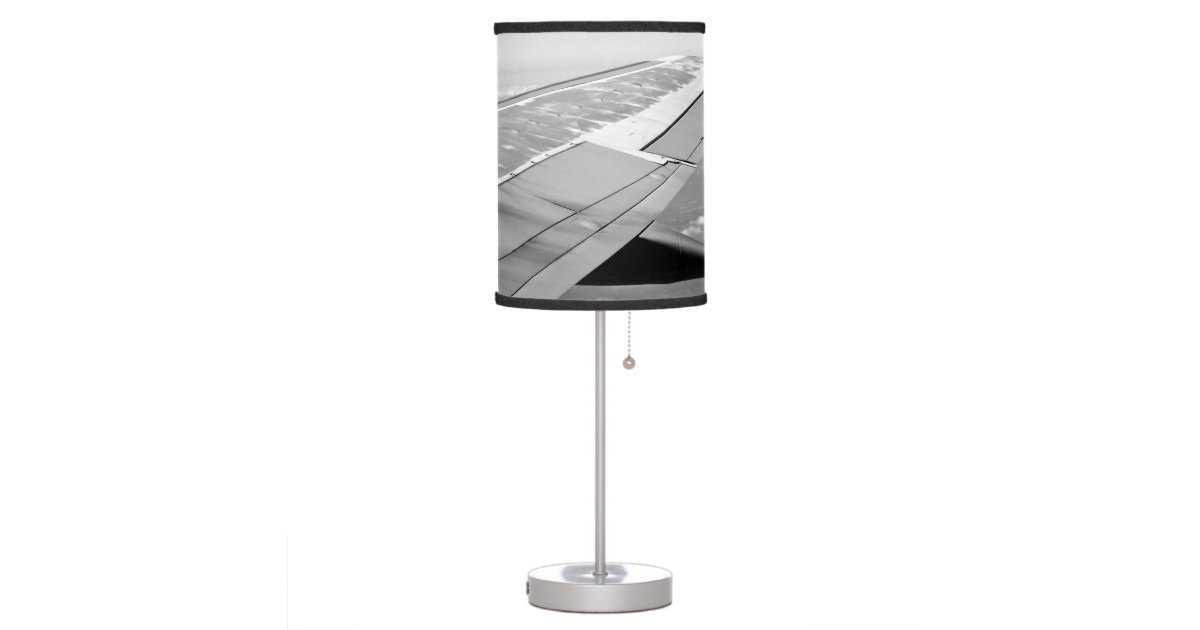 Airplane Wing Table Lamp Zazzle Com