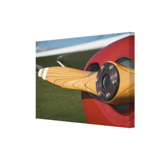 Airplane Wrapped Canvas Print