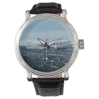 airplane wristwatch