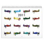 airplanes, 2011 calendar