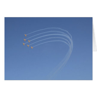 Airplanes 3 card