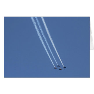 Airplanes 4 card