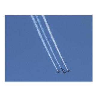 Airplanes 4 postcard