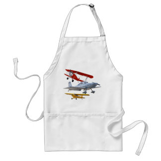AIRPLANES ADULT APRON