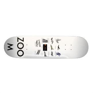 airplanes, airplanes, ZOOM Skateboard Deck