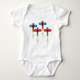 Airplanes Baby Bodysuit