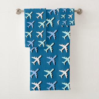 Airplanes Bath Towel Set