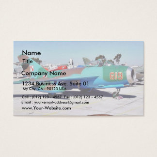 Airplanes Business Card