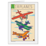Airplanes-Card