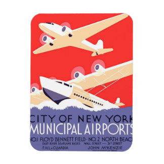Airplanes Flying Vintage Propeller Planes Magnet