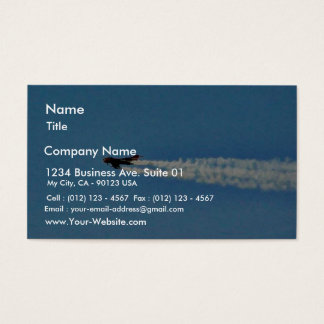Airplanes Jet Mig Business Card