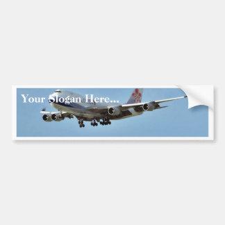 Airplanes Jets Car Bumper Sticker