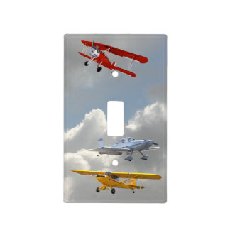 AIRPLANES LIGHT SWITCH COVER