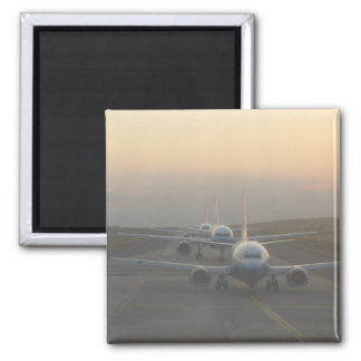 Airplanes on a Runway Magnet