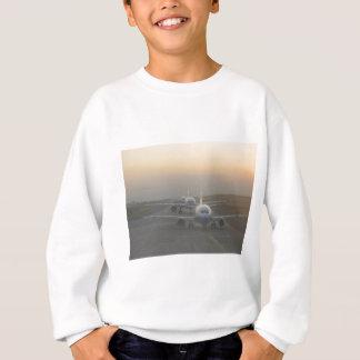 Airplanes on a Runway Sweatshirt