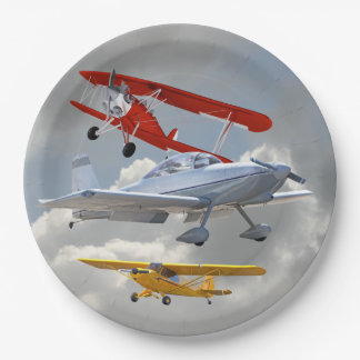 AIRPLANES PAPER PLATE