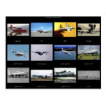 Airplanes Postcard
