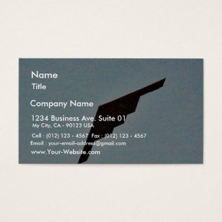 Airplanes Stealth Bomber Business Card