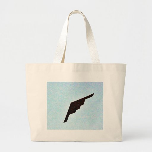 Airplanes Stealth Bomber Tote Bags