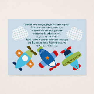 Airplanes Taking Flight Favor Tag/Card Business Card